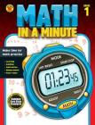 Math in a Minute, Grade 1 Cover Image