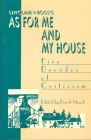 Sinclair Ross's as for Me and My House: Five Decades of Criticism Cover Image