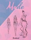 Mode Färbebuch: Wunderschöne Kleider Malbuch, Schönheit Färbung Buch für Frauen und Mädchen, Zeichnung Arbeitsbuch für Teens Cover Image