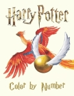 Harry Potter Color by Number: NEW! Harry Potter Color by Number Coloring Book for Kids! Cover Image