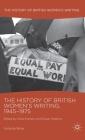 The History of British Women's Writing, 1945-1975: Volume Nine Cover Image