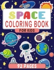 Space Coloring Book For Kids: Fantastic Outer Space and Planets Coloring Cover Image