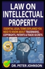 Law on Intellectual Property: Essential Legal Terms Explained You Need To Know About Trademarks, Copyrights, Patents, and Trade Secrets (UPDATED). Cover Image