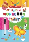 Colors and Numbers: My First Workbook Cover Image