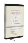 NRSV Go-Anywhere Thinline Bible Catholic Edition (Bonded Leather Black) Cover Image