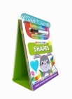 Tiny Tots Shapes: Wipe Clean Book with Carry Handle and Easel Cover Image