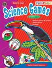 Full-Color Science Games, Grades 1-2 Cover Image
