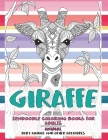 Zendoodle Coloring Books for Adults Baby Animal and other Creatures - Animal - Giraffe Cover Image