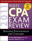 Wiley CPA Exam Review 2011, Business Environment and Concepts Cover Image