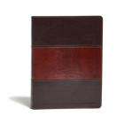 KJV Study Bible, Saddle Brown LeatherTouch Indexed Cover Image