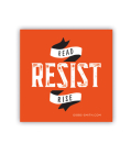 Read Resist Rise Sticker Cover Image