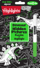 Dinosaur Hidden Pictures Puzzles to Highlight (Highlights Hidden Pictures Puzzles to Highlight Activity Books) Cover Image