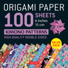 Origami Paper 100 Sheets Kimono Patterns 6 (15 CM): High-Quality Double-Sided Origami Sheets Printed with 12 Different Patterns (Instructions for 6 Pr Cover Image