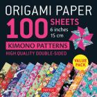 Origami Paper 100 Sheets Kimono Patterns 6