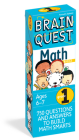 Brain Quest 1st Grade Math Q&A Cards: 750 Questions and Answers to Challenge the Mind. Curriculum-based! Teacher-approved! (Brain Quest Decks) Cover Image