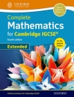 Complete Mathematics for Cambridge Igcserg Student Book (Extended) Cover Image