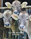 Cattle Record Keeping: Beef Calving Log, Farm Management, Track Livestock Breeding, Calves Journal, Immunizations & Vaccines Book, Cow Income Cover Image