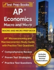 AP Economics Macro and Micro Prep Book: AP Microeconomics and Macroeconomics Study Guide with Practice Test Questions [Includes Detailed Answer Explan Cover Image