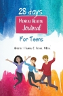 28 Days Mental Health Journal for Teens Cover Image