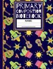Primary Composition Notebook: Cool Siesta Cactus Kindergarten Composition School Exercise Book with Drawing Space (Back To School Notebooks) Cover Image