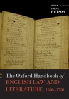 The Oxford Handbook of English Law and Literature, 1500-1700 (Oxford Handbooks) Cover Image