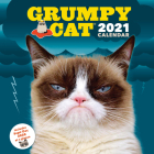 Grumpy Cat 2021 Wall Calendar: (Cranky Kitty Monthly Calendar, Funny Internet Meme 12-Month Calendar) Cover Image