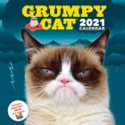 Grumpy Cat 2021 Wall Calendar: (Cranky Kitty Monthly Calendar, Funny Internet Meme 12-Month Calendar) Cover Image