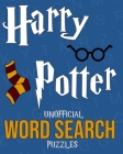 Harry Potter Unofficial Word Search Puzzles: Over 100 Puzzles - Great Gift Book For Kids Cover Image
