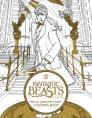 Fantastic Beasts and Where to Find Them: Magical Characters and Places Coloring Book (Fantastic Beasts movie tie-in books) Cover Image