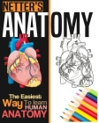 Netter's Anatomy Coloring Book: Neuroanatomy Human Body Workbook Cover Image