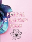 Floral Coloring Book Cover Image