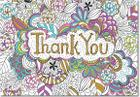 Color Me Thank You Notes (Stationery, Note Cards, Boxed Cards) Cover Image
