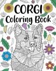 Corgi Coloring Book Cover Image