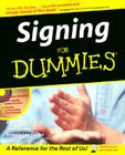 Signing For Dummies Cover Image