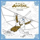 Avatar: The Last Airbender Coloring Book Cover Image