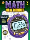 Math in a Minute, Grade 2 Cover Image