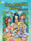 Little Mermaid Friends Coloring Book (Dover Coloring Books) Cover Image