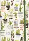 2022 Watercolor Succulents Weekly Planner (16-Month Engagement Calendar) Cover Image