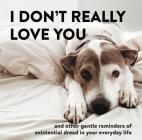 I Don't Really Love You: And Other Gentle Reminders of Existential Dread in Your Everyday Life Cover Image