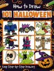How to Draw 101 Halloween Cover Image