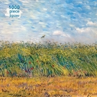 Adult Jigsaw Puzzle Vincent Van Gogh: Wheat Field with a Lark: 1000-Piece Jigsaw Puzzles Cover Image