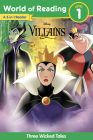 World of Reading: Disney Villains 3-Story Bind-Up Cover Image