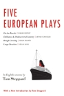 Five European Plays: Nestroy, Schnitzler, Molnár, Havel Cover Image