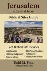 Jerusalem & Central Israel Biblical Sites Guide Cover Image