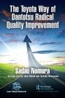 The Toyota Way of Dantotsu Radical Quality Improvement Cover Image