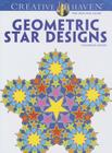 Geometric Star Designs Coloring Book (Creative Haven Coloring Books) Cover Image