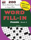 WORD FILL-IN Puzzle Book 3 Cover Image
