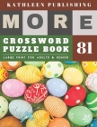 Large Print Crossword Puzzle Books for seniors: rest easy crossword - More Large Print - Hours of brain-boosting entertainment for adults and kids spo Cover Image