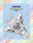 Livres à colorier pour adultes pour marqueurs et crayons - Mandala - Animaux Cover Image