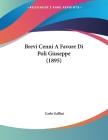 Brevi Cenni A Favore Di Poli Giuseppe (1895) Cover Image
